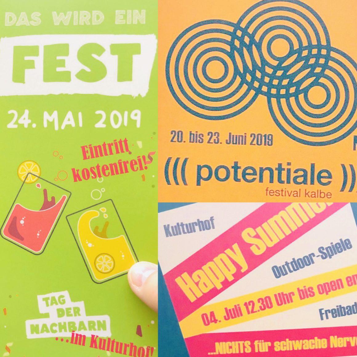 Veranstaltungen der Künstlerstadt Kalbe