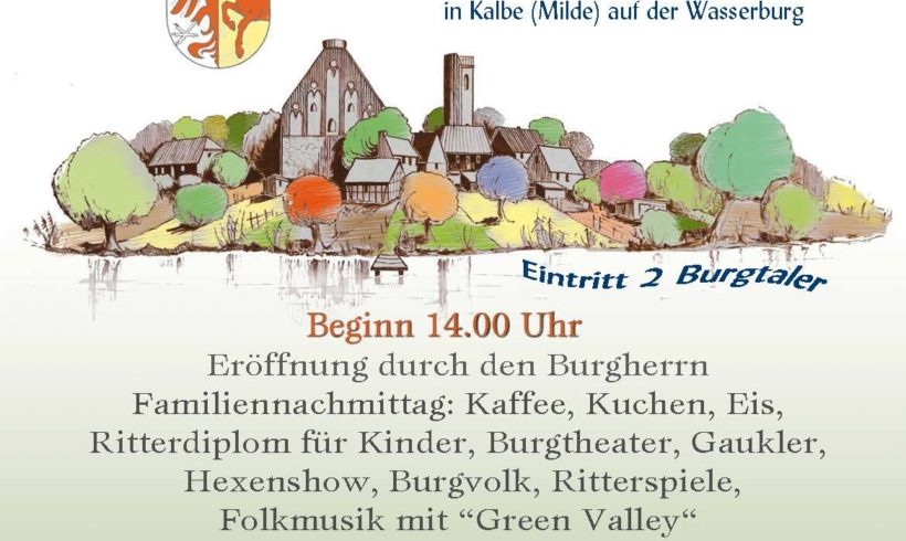 Burgfest in Kalbe (Milde)