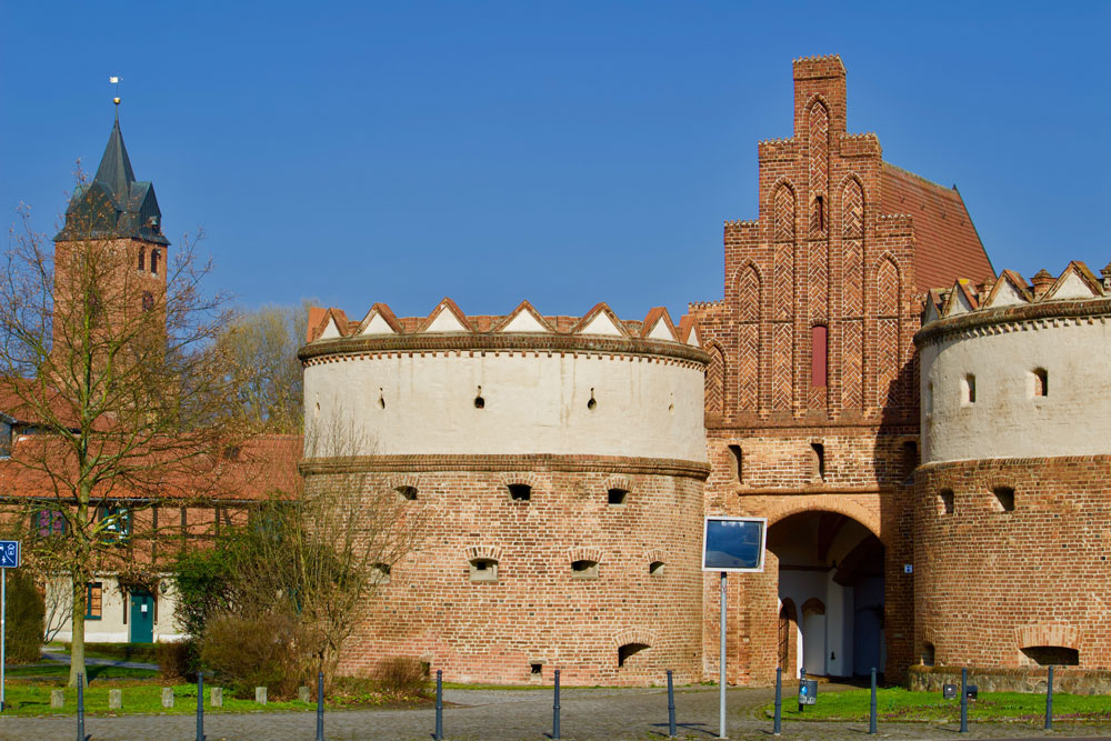 Das Salzwedeler Tor in Gardelegen, markantes Symbol der Stadtgeschichte