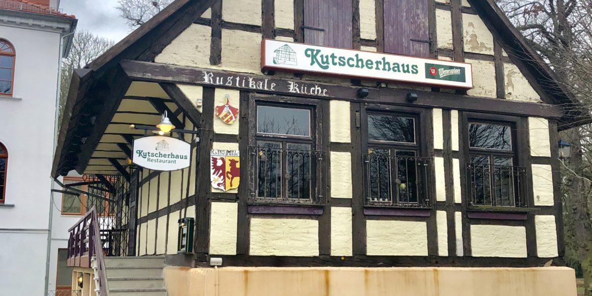 Historisches Kutscherhaus vor Wiedereröffnung im März 2019!